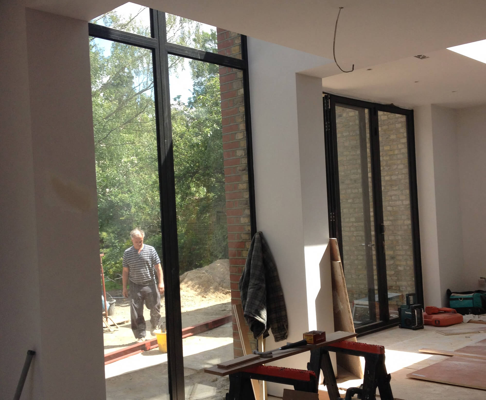 Marguerite Murdoch Architects - Based in Teddington, Richmond Upon Thames - Project Process - House Construction Extension Photo