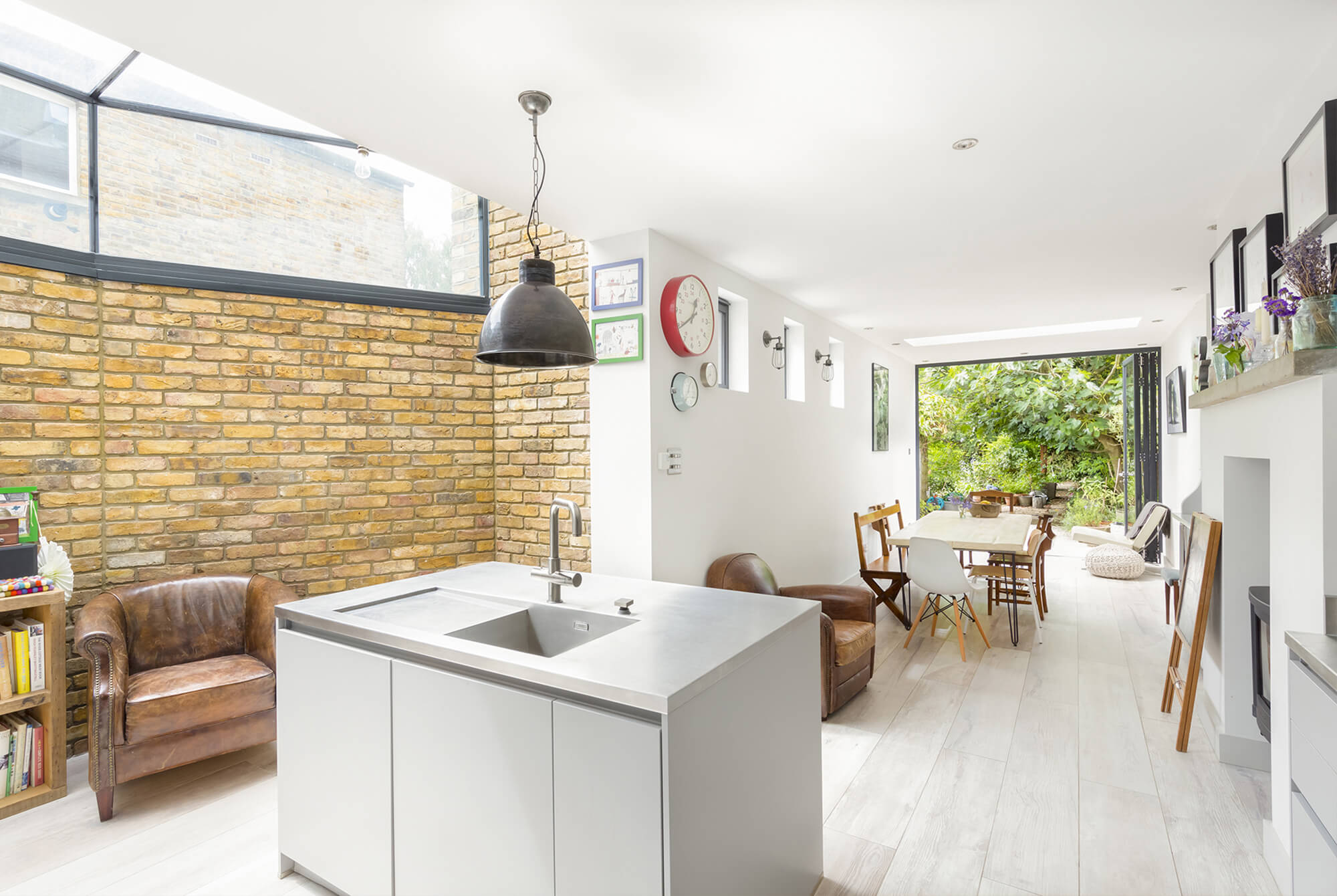 Marguerite Murdoch Architects - Based in Teddington, Richmond Upon Thames - Kitchen Extension and Glass Skylights