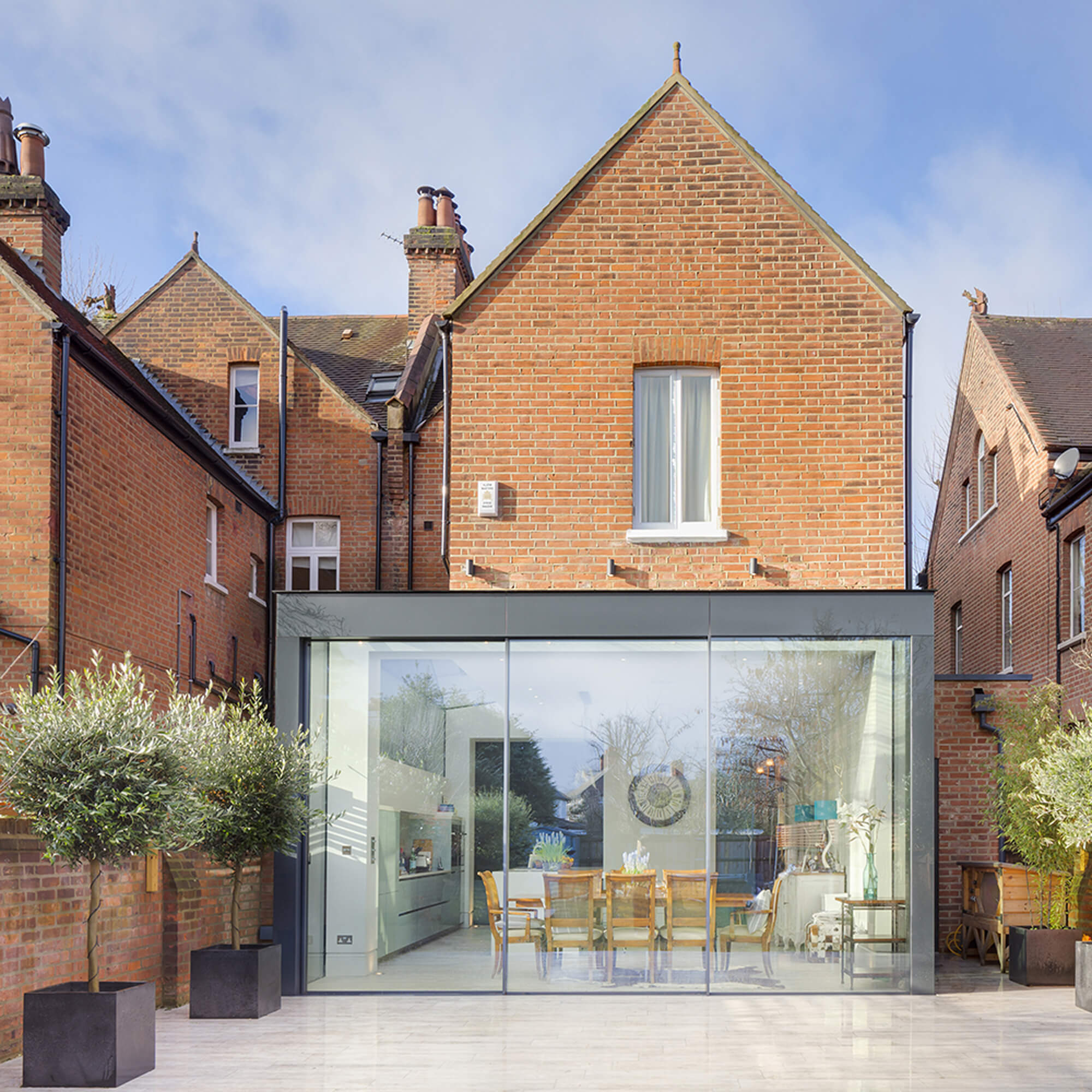 Marguerite Murdoch Architects - Based in Teddington, Richmond Upon Thames - Complex Glass Extension High Quality