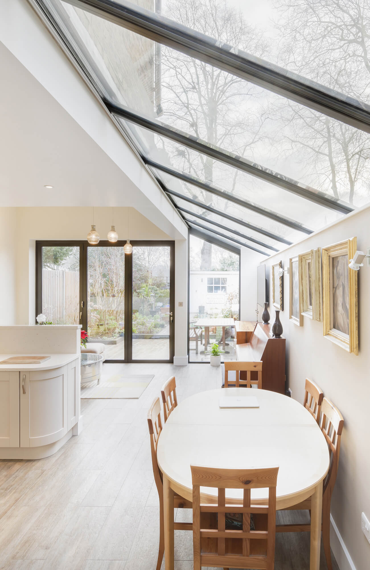 Marguerite Murdoch Architects - Based in Teddington, Richmond Upon Thames - Loft Conversion, Kitchen Extension and Total Refurbishment