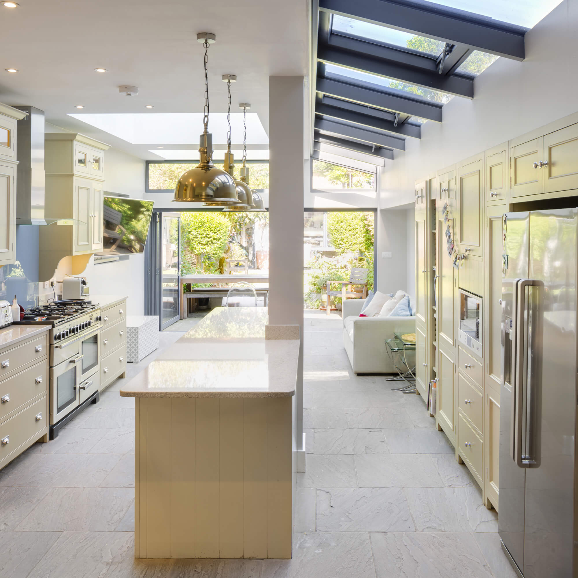 Marguerite Murdoch Architects - Based in Teddington, Richmond Upon Thames - Loft Conversion, Kitchen Extension and Total Conversion